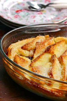 Bread and Butter Pudding : pain perdu à l'anglaise - Bikini et Gourmandise