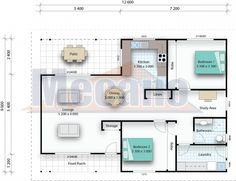 Wide range of kit home plans for the owner builder. Mecano kit homes makes construction simple with an easy to assemble high-tensile steel frame.