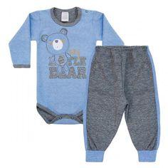 Conjunto Bebê Menino Ursinho - Patimini :: 764 Kids Loja Online, Roupa bebê e infantil !