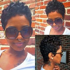 Beautiful hair for black women fall 2014 autumn style