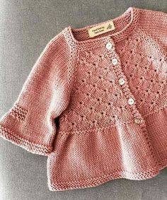 Lily cardigan pattern Frou Fro