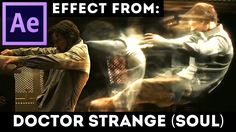 After Effects Tutorial: Soul Effect from Doctor Strange movie