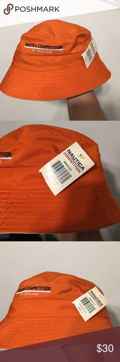 Vintage nautica competition Bucket hat  deadstock Vintage deadstock new Nautica Accessories Hats