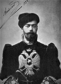 L'Empereur Nicolas II de Russie. 18.05.1868 -17.07.1918.