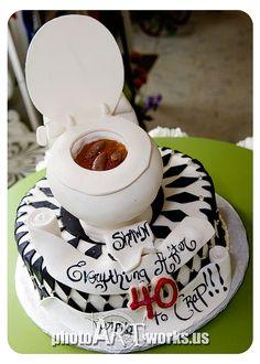 Toilet Cake ~ lol!