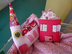 mon village cadeau de naissance pour léa by tantecath.blogspot.fr