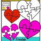 Have fun creating Valentine themed creations with this heart puzzle piece clip art set!    All images are in transparent png format (meaning no whi...
