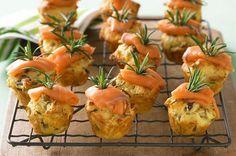 Parmesan-Mushroom-Muffins