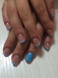 French blue acrylic