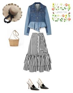 """Summer time"" by francystyling78 on Polyvore featuring moda, Sea, New York, Christian Dior e Caroline Constas"