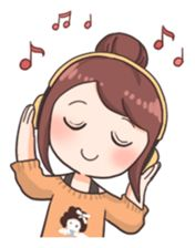 You can show your daily fangirling activities by using these stickers~! Kawaii Chibi, Kawaii Art, Kawaii Anime, Pop Stickers, Tumblr Stickers, Cartoon Mignon, Art Mignon, Korean Stickers, Simple Doodles