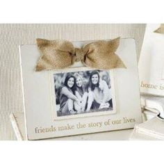 How sweet is this rustic photo frame from Mud Pie?  We can order wedding gifts like this in our gift catalog!