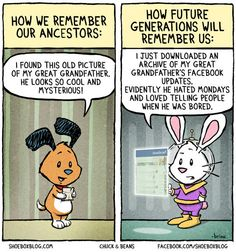 How Future Generations Will Remember Us [Comic]