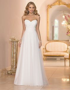 Stella York gown at sophia's bridal, tux, & prom of indianapolis