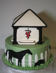 Graduate cake for the veterinary college student