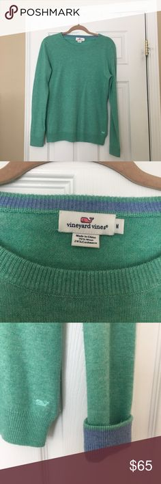 Cashmere Vineyard Vines Sweater Great condition Worn no more than 2 times Soft  Beautiful color  Fits true to size Vineyard Vines Sweaters Crew & Scoop Necks
