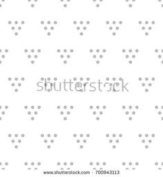Vector seamless pattern. Modern stylish texture. Repeating geometric tiles with dotted triangles. Regular hipster background. Small dots form triangular minimalistic ornament.