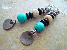 Boho Earrings - Hippie Earrings - Tribal Earrings - Boho Jewellery - African Jewellery
