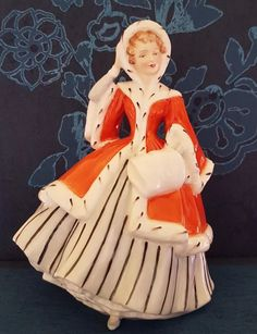 BEAUTIFUL ROYAL DOULTON LARGE FIGURINE ( NOELLE ) FIRST QUALITY CONDITION | eBay