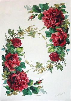 Name: Displayed views: 982 Size: 7 … - Blumen Art Floral, Floral Vintage, Vintage Diy, Vintage Cards, Vintage Paper, Vintage Flowers, Vintage Prints, Decoupage Vintage, Vintage Pictures