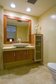 Contemporary Bathroom Mirror Design Pictures Remodel Decor And Ideas