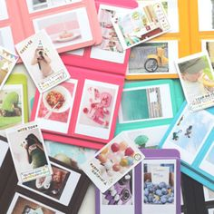 Instax Album - GREAT SITE!!  I want one of these cameras - oohh - why do I want everything!!!