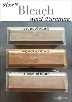 Easy Bleached Wood Furniture easy bleach wood furniture: the beach affect The post Easy Bleached Wood Furniture appeared first on Wood Diy. Refurbished Furniture, Repurposed Furniture, Wooden Furniture, Cool Furniture, Furniture Ideas, Staining Wood Furniture, Furniture Design, Furniture Websites, Furniture Stores