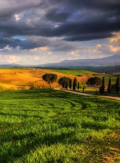 The colors of Val d'Orcia by Fabrizio Lunardi (Tuscany, Italy)