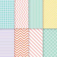 Pastel vectors, photos and psd files Vintage Grunge, Pink Watercolor, Watercolor Background, Retro Pattern, Pattern Design, Pixel Pattern, Pattern Images, Textures Patterns, Color Patterns