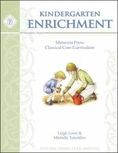 Kindergarten Enrichment | Classical Core Curriculum Supplement | Memoria Press