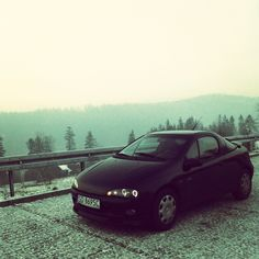 <3 #beskidy #szczyrk #wisła #polska #opel #tigra #opeltigra #irmscher #vauxhall #holden #cartrip #cargirl #blackcar #sport #ilovemycar #angeleyes #tuningcars #landscape #love