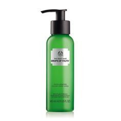 the body shop drops of youth liquid peel, makes dead skin flake off!