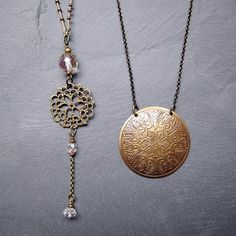 Second-hand findings simply transformed for a new life New Life, Two Hands, Costume Jewelry, Jewelry Accessories, Photos, Pendant Necklace, Photo And Video, Detail, Instagram