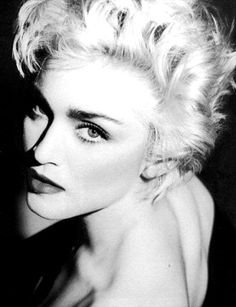 "Madonna..trendsetter, rule breaker & her ruthless ambition made her an icon & once titled ""The Most Famous Woman In The World""! Bella Madonna <3 Hinesman"