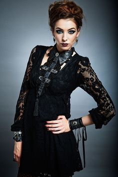Victorian Woman presents Barock 'n' Roll luxury #handmade #fashion accessories in #France. Unique #jewelry pieces and limited edition between shadow and light, between romanticism, dandies and rock attitude.  http://www.bestfashionworld.com/B7MiYz