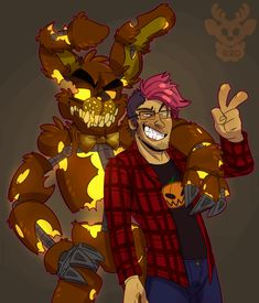 JackoBonnie by xNIR0x on DeviantArt