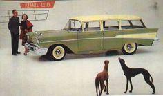 Postcard - Chevrolet 1957