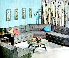 Living Room (1957) by peppermint kiss kiss, via Flickr