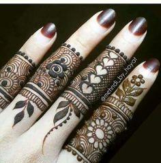 henna#finger More