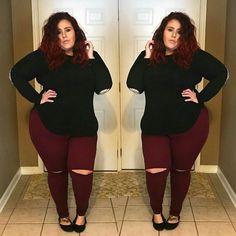 Trendy Ideas For Moda Jovem Feminina Plus Size Curvy Outfits, Plus Size Outfits, Girl Outfits, Fashion Outfits, Fashion 2017, Fashion Online, Plus Size Fashion For Women, Plus Fashion, Womens Fashion