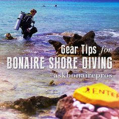 What to bring for shore diving, in Bonaire or anywhere.