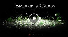 動画・映像制作例として、ガラス玉が落下して砕けるシーンを、ハイスピードカメラで撮影したように見せた3DCGムービーを制作しました。  ガラスで出来たボールを3DCGで作成。そのガラス球が落下し、地面に衝突して砕けるアニメーションを3DCGソフトで作成しました。 ハイスピードカメラで撮影したようなスローモーション再生になるよう、1秒間を240フレームでCGアニメーションを作成しました。※通常の動画は1秒30フレーム  Cinema4D(3DCG作成用ソフト)から書き出した動画ファイルを、AfterEffectsで更に加工していきます。 画面の手前と奥に、カメラによる自然なボケ足が出るよう、Cinema4Dから別ファイルで書き出したデプスファイルを使って被写界深度(DOF)を設定。また、ガラスの透明感や綺麗な透け感が出るように、光の反射具合や色味を補正していきます。  全ての加工処理が終わったら、AfterEffectsで最終レンダリングして完成。動画のサイズは、1280×720PXのハイビジョンサイズです。 (無断転載・転用については固くお断りします)