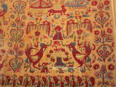 Contemporary Decorative Art, Benaki Museum, Greek Design, Naive Art, Islamic Art, Athens, Interior Ideas, Fabric Crafts, Flower Art