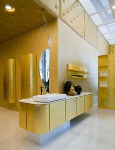 Italian Bathroom Vanity.Want remodeling tips and tricks? Visit www.boardwalknorth.com/blog