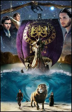 The Chronicles of Narnia: The Voyage of the Dawn Treader (2010) | Adventure ~ Family ~ Fantasy | Take the voyage - Live the adventure | Artwork by Andrew Archer [©2013]