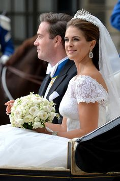 Princess Madeline of Sweden's wedding to British businessman, Chris O'Neil, 8 June 2013