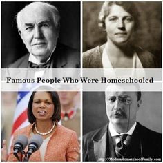 famous people who were homeschooled