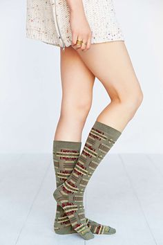 Pendleton Blanket Pattern Sock - Urban Outfitters