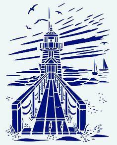 d0e37062f596848edb7f91b744ff10ff--beach-stencils-beach-chairs Paint Stencil Designs Bird House on rose vine tattoo stencils, small bird stencils, flower and vine stencils, floor cloth stencils,