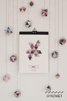"""Kalender 2014 – """"Geometrie"""""""
